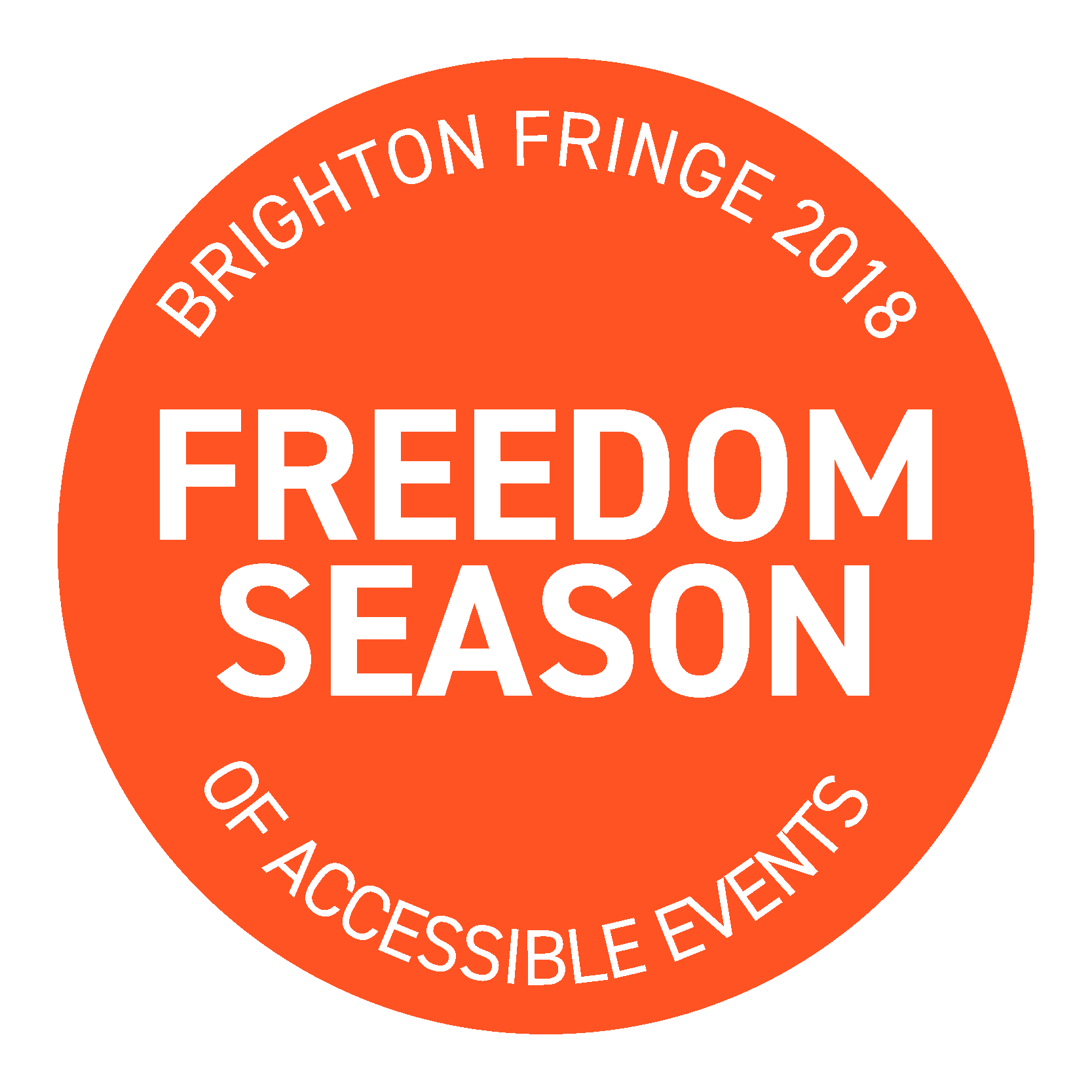 freedom season orange logo